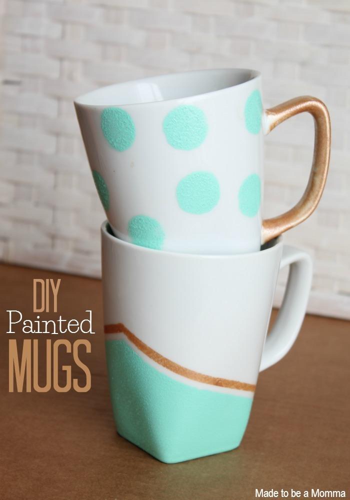 Spray Paint Ceramic Mug