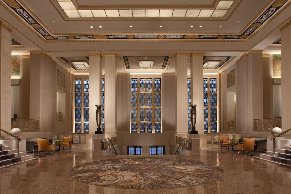 Bay Area Hotel Connoisseurs Art Deco Aficionados And Luxury Of All Kinds Have Something New To Look Forward The Posh Waldorf Astoria Brand Has
