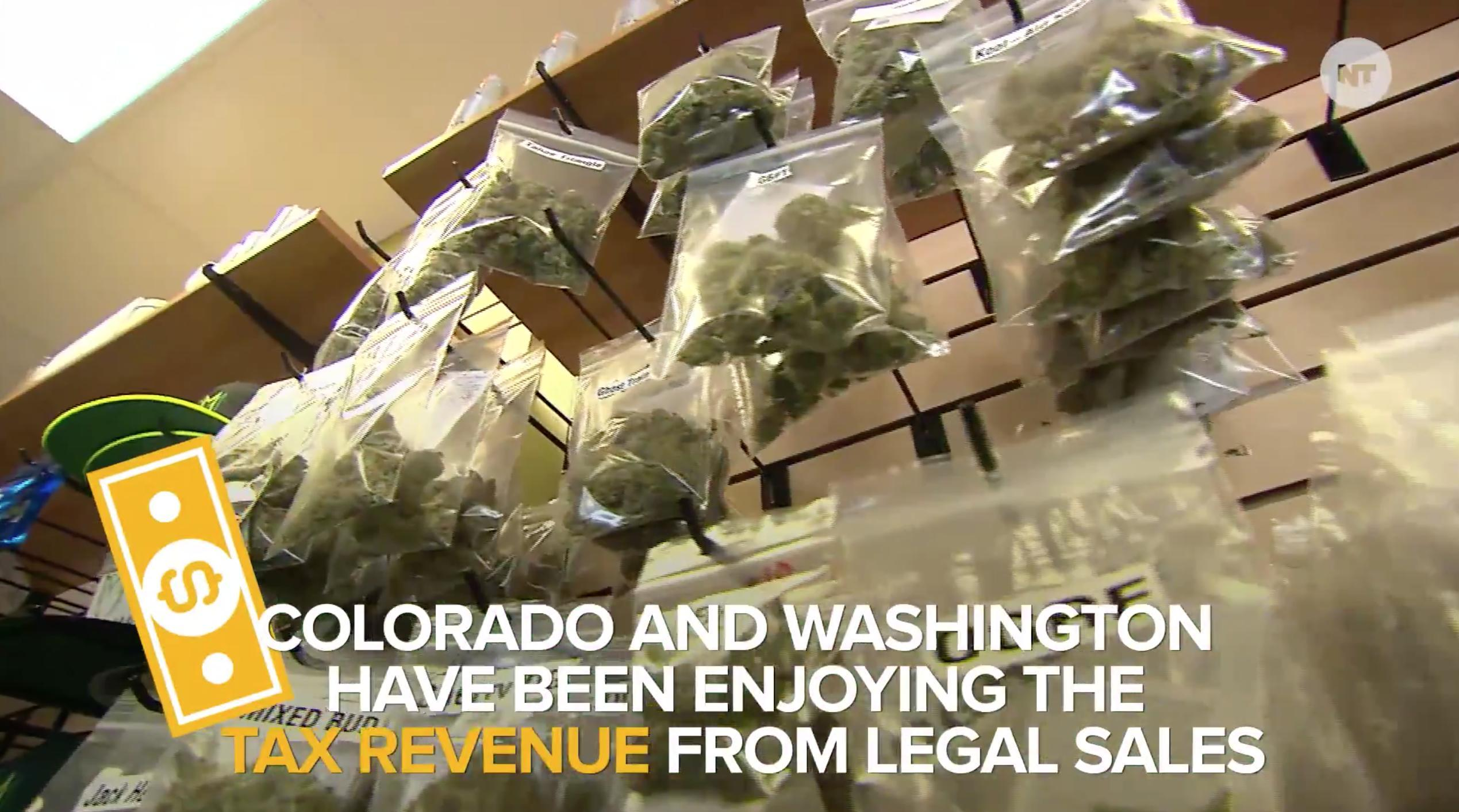 WATCH: This Is The Current State Of Marijuana Legalization In The U.S.