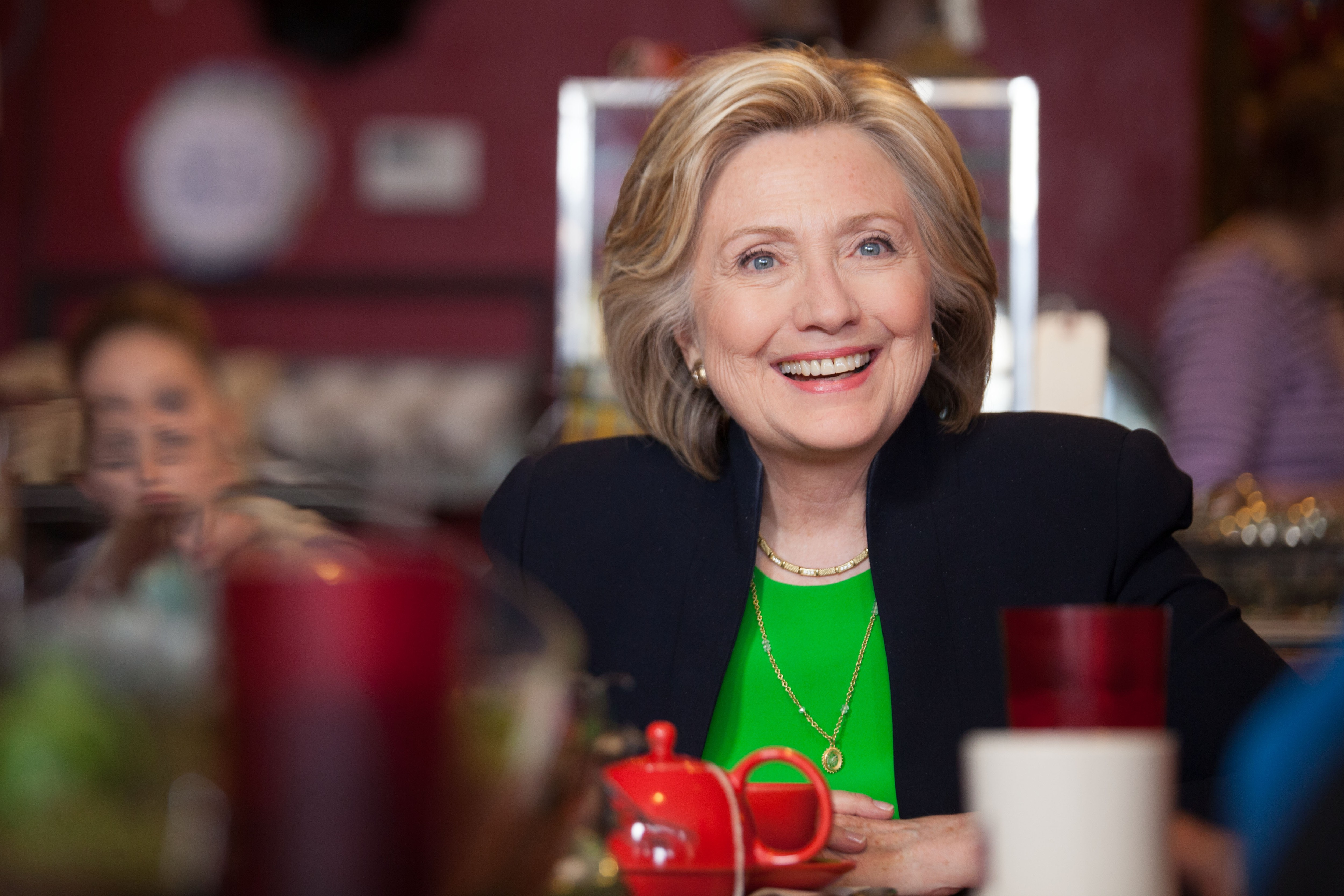 Hillary Clinton Supports Decriminalizing Marijuana