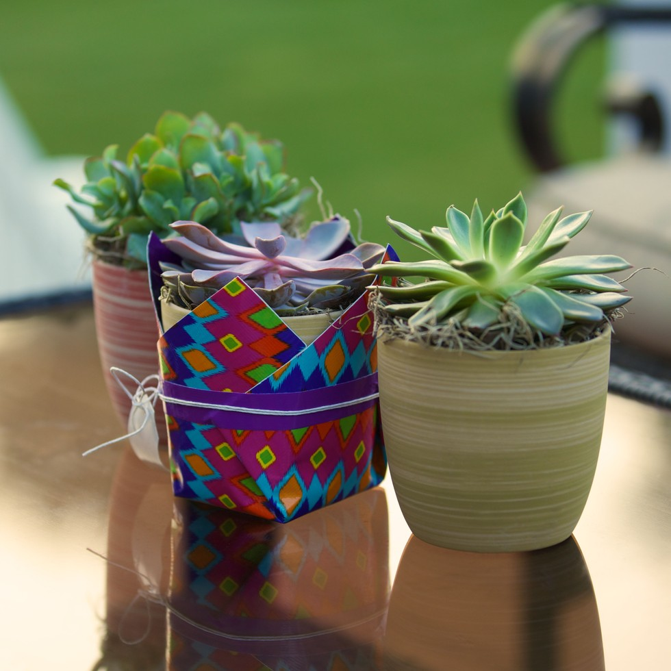 Gift idea easy colorful diy duck tape wrap container for Craft ideas with duct tape