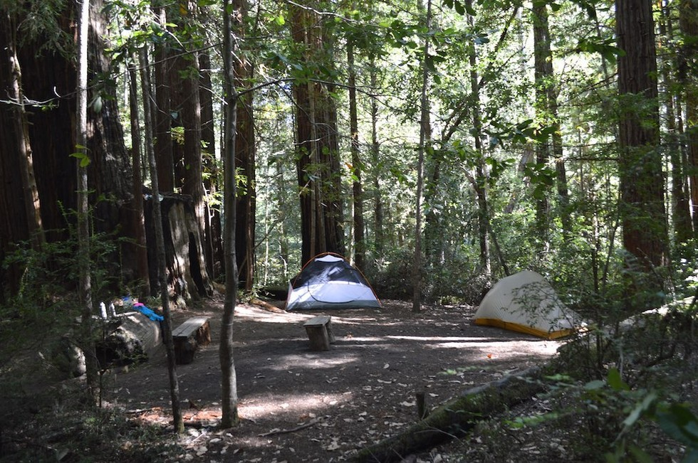 The bay area 39 s 5 best fall campsites 7x7 bay area for Santa cruz fishing spots