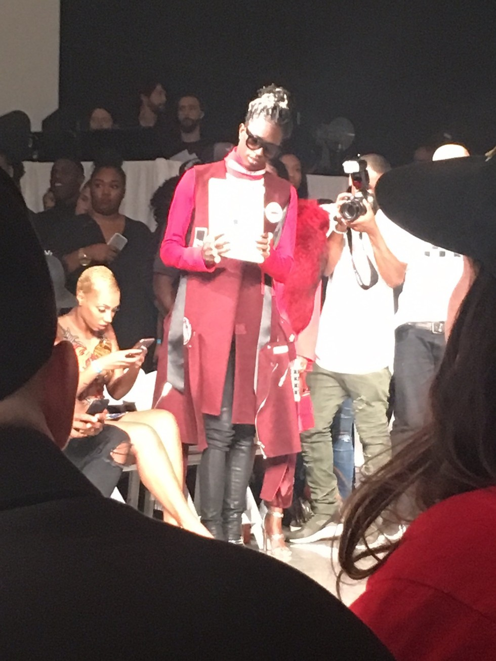 Young Thug Stopped The Vfiles Fashion Show Last Night To