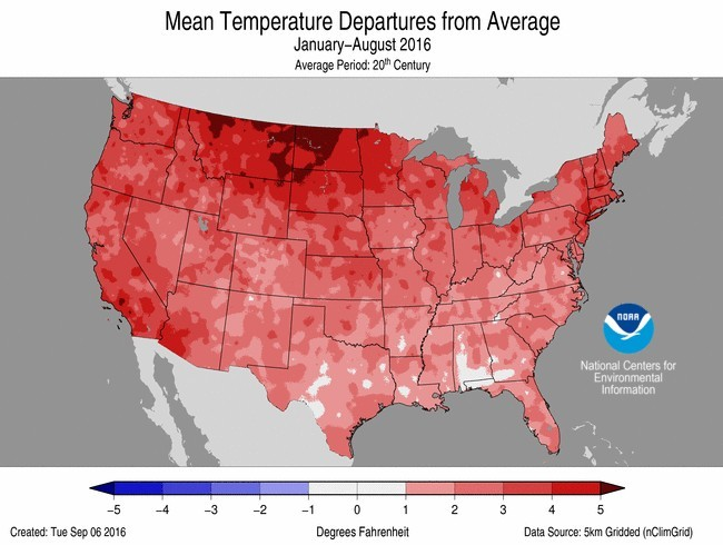 noaa hottest summer nights ever in 121 years