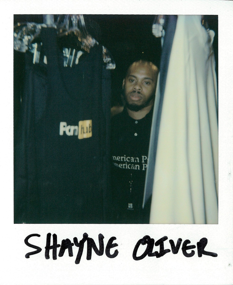 SHAYNE OLIVER