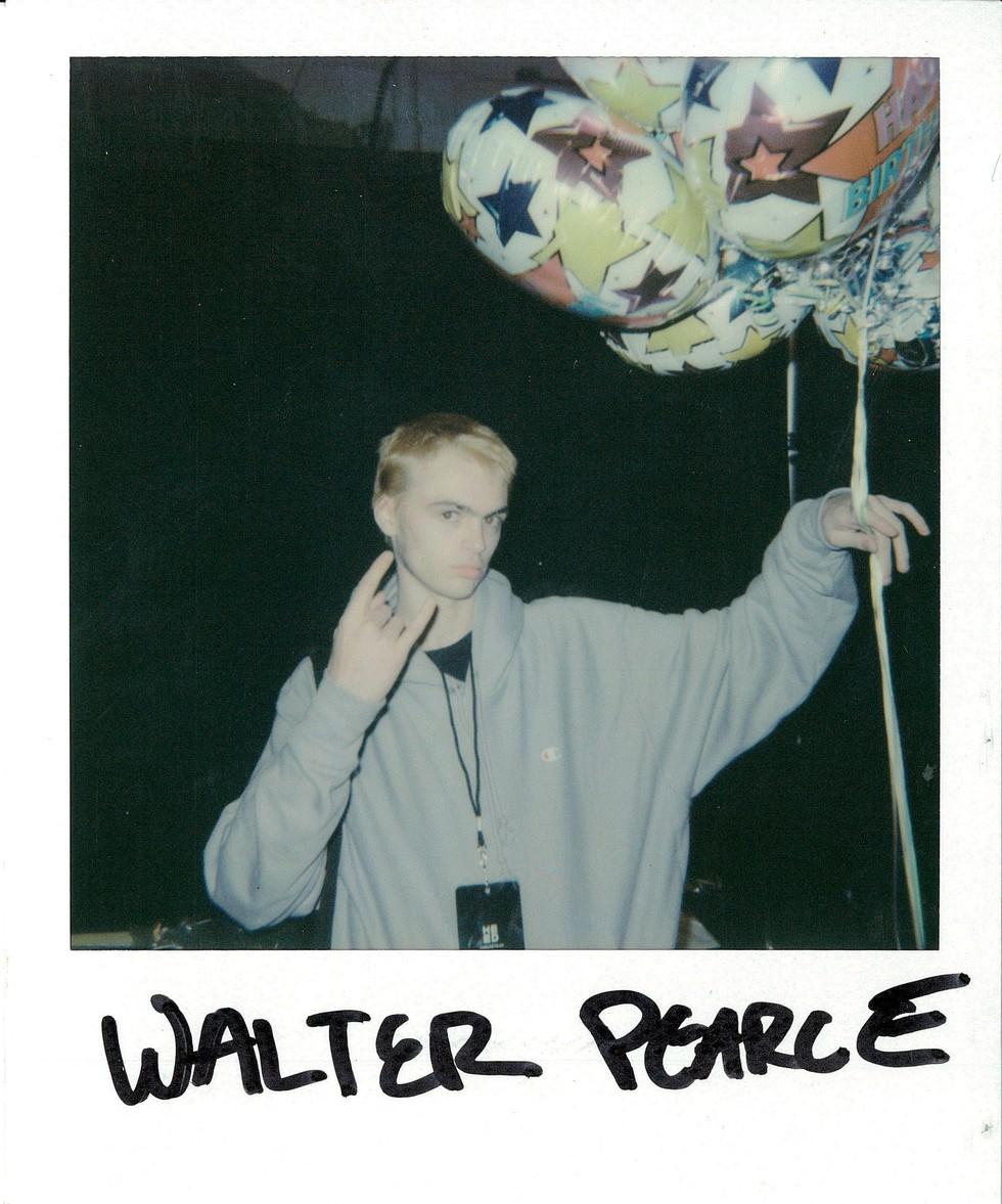 WALTER PEARCE