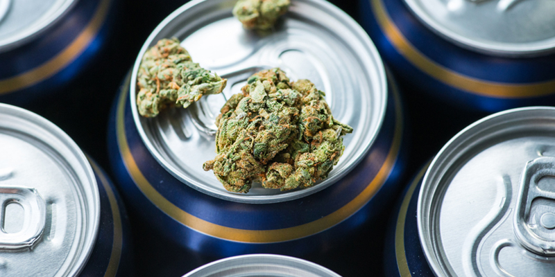 These Are the Alcohol Companies That Want To Keep Weed Illegal