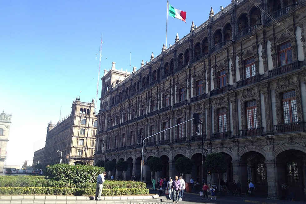 Zocala, main square, Mexico City