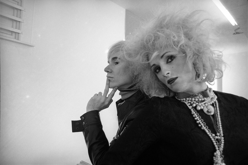 Cecil Beaton, Andy Warhol and Candy Darling. New York. 1969