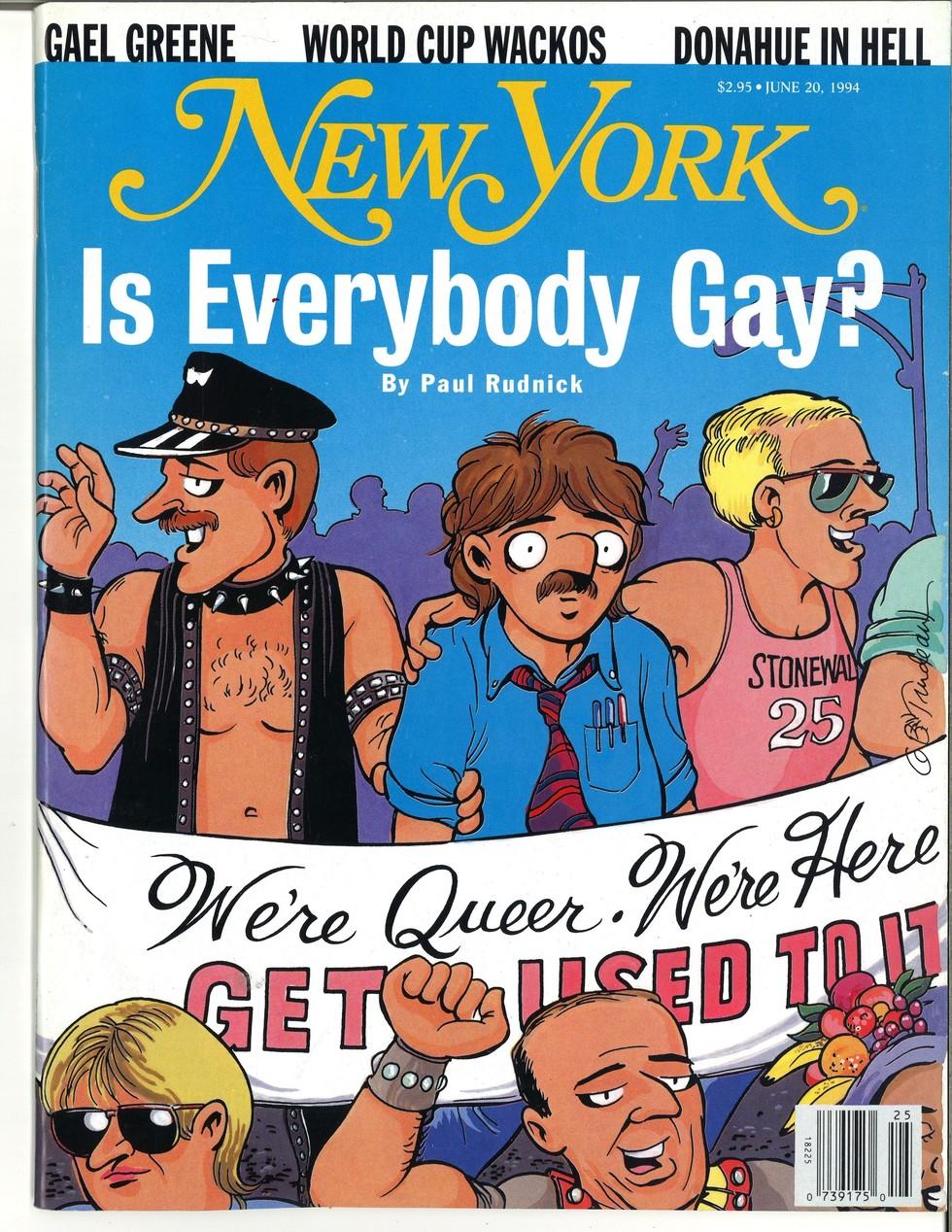 New York Magazine cover. June 20, 1994.