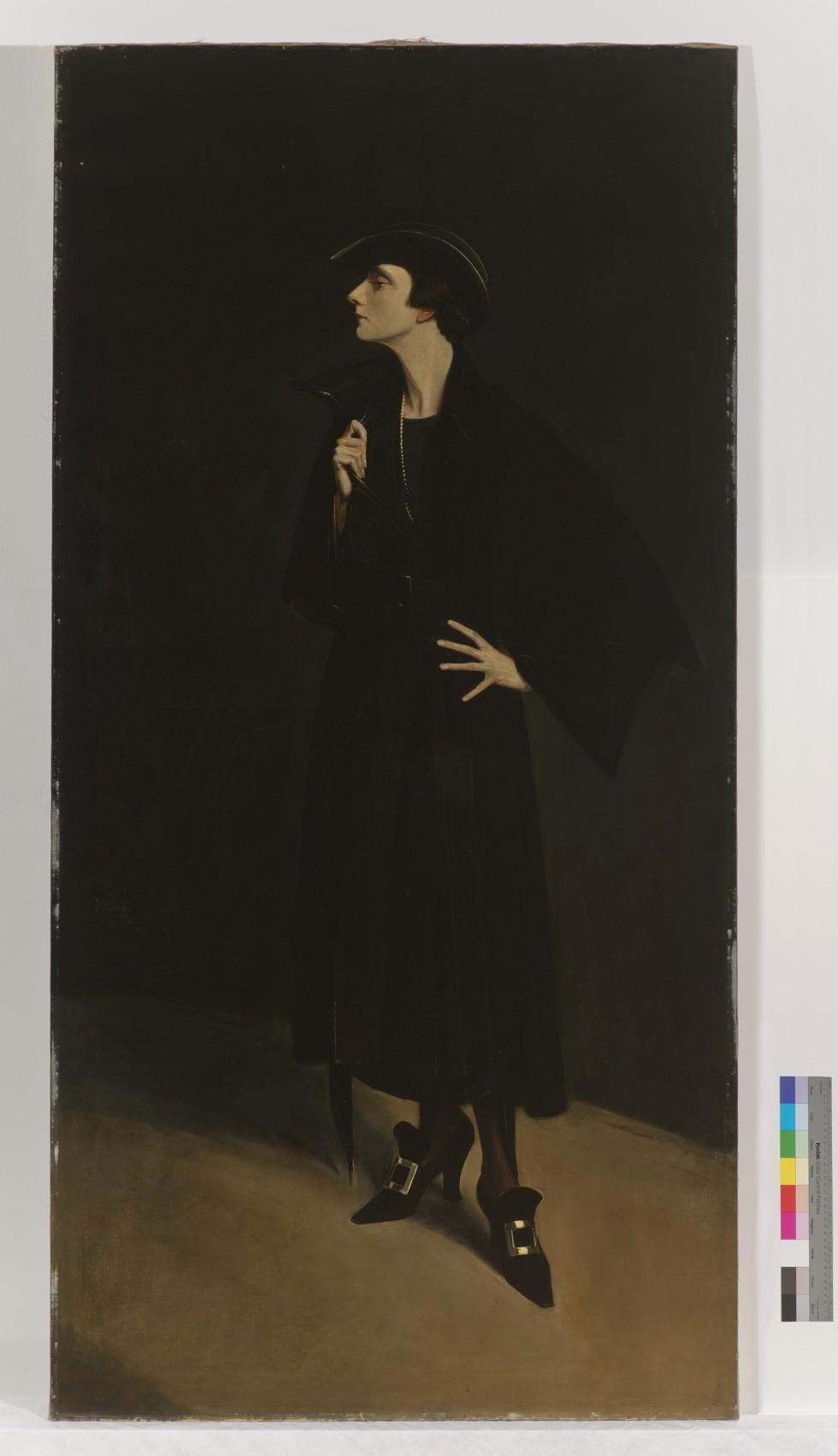 Abram Poole, Portrait of Mercedes de Acosta. 1923.