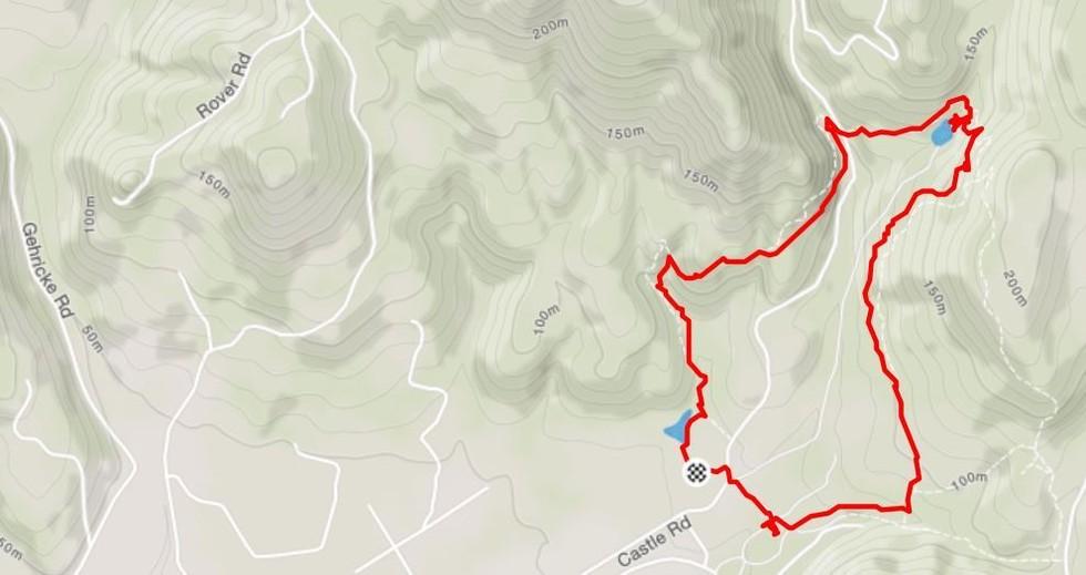 Sonoma's Bartholomew Park Map