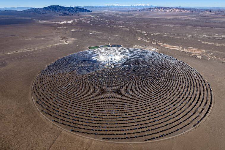 World S Largest Solar Project Would Generate Electricity