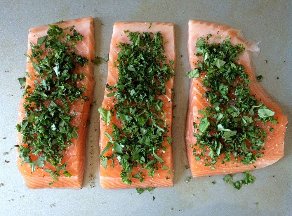 Edibles You Can Love: Cannabis Herb Smoked Salmon
