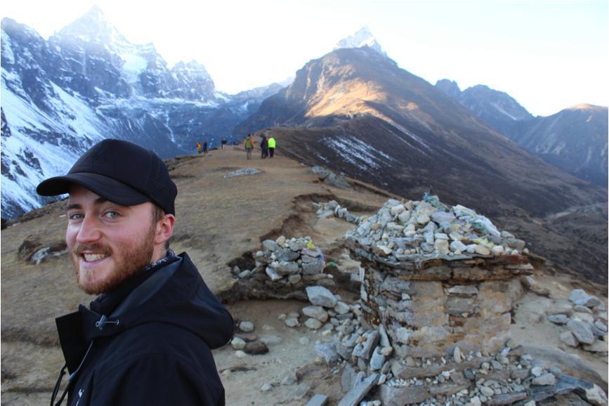 Kev Boyd in Nepal