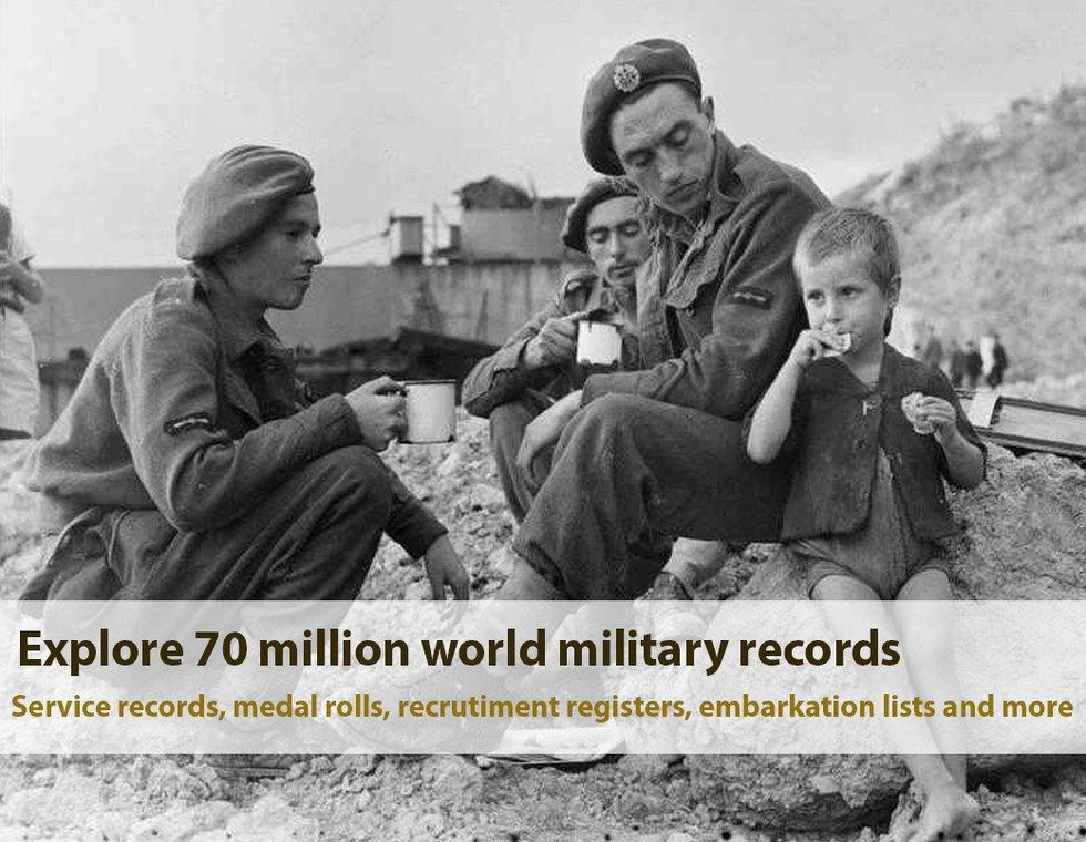 Explore 70 million world military records