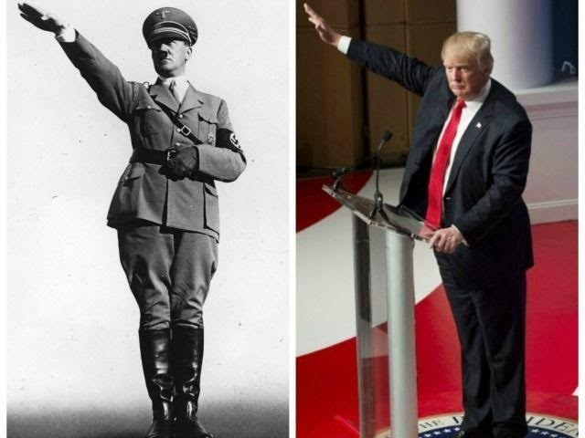 Image result for alt-right trump salute