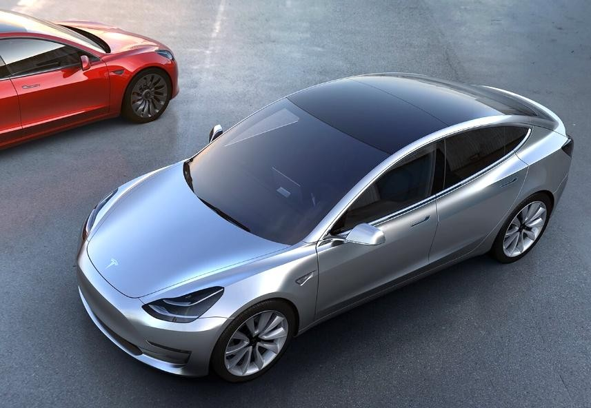 Musk To Put Solar Glass On Tesla Model 3 Tells Dicaprio
