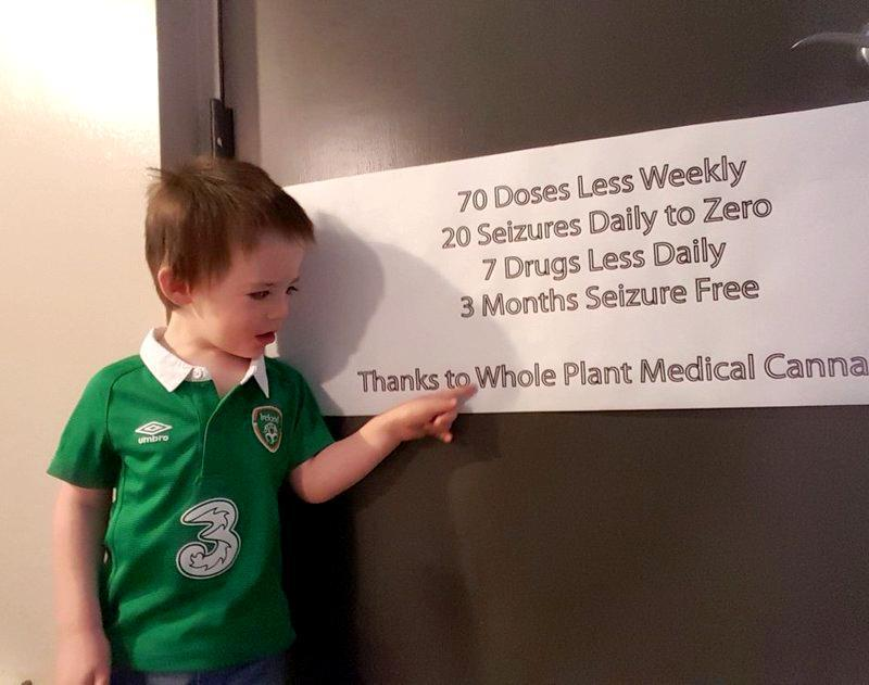 Irish Mom Says Her Toddler's Life Transformed by U.S. Cannabis Treatment