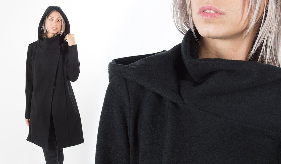 Betabrand x Melissa Fleis All-Day Coat