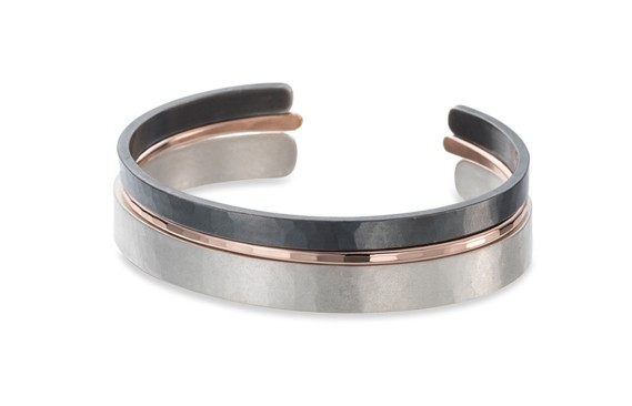 Colleen Mauer 3-Stack Densa Cuff Set
