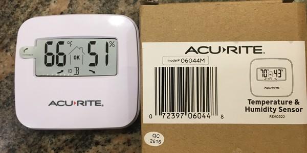 AcuRite Temperature & Humidity Sensor