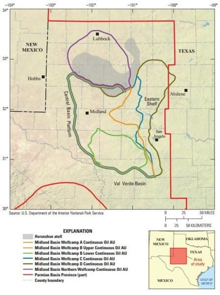Nations Biggest Shale Oil Field Found In Texas - Map of us oil fields