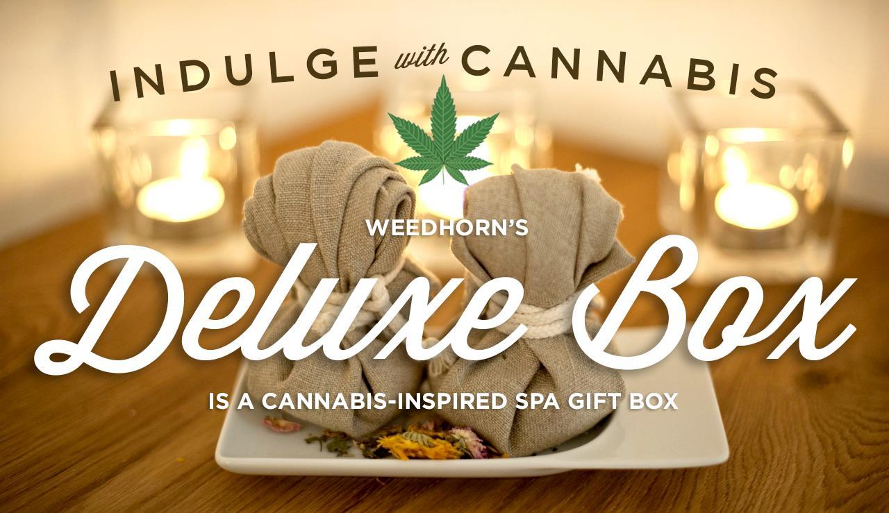 Introducing the Indulgent WeedHorn Cannabis-Infused 'Spa in a Box' For the Holidays