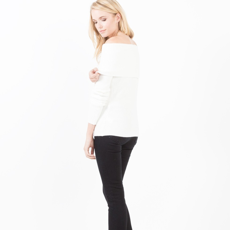 Modern Citizen Simone Off-Shoulder Sweater