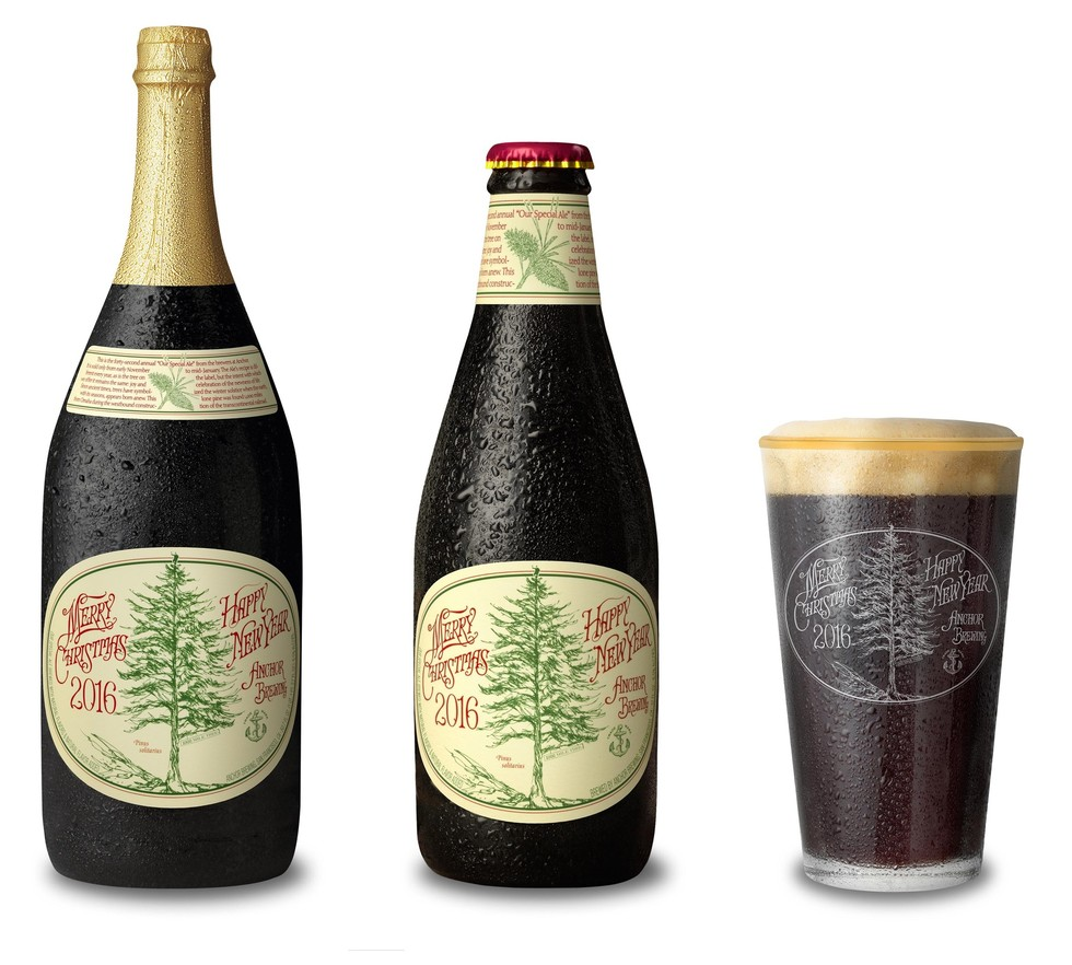 Anchor Brewing Company's 2016 Christmas Ale