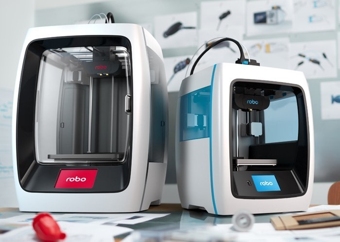 The New Robo C2 Compact Smart 3D Printer