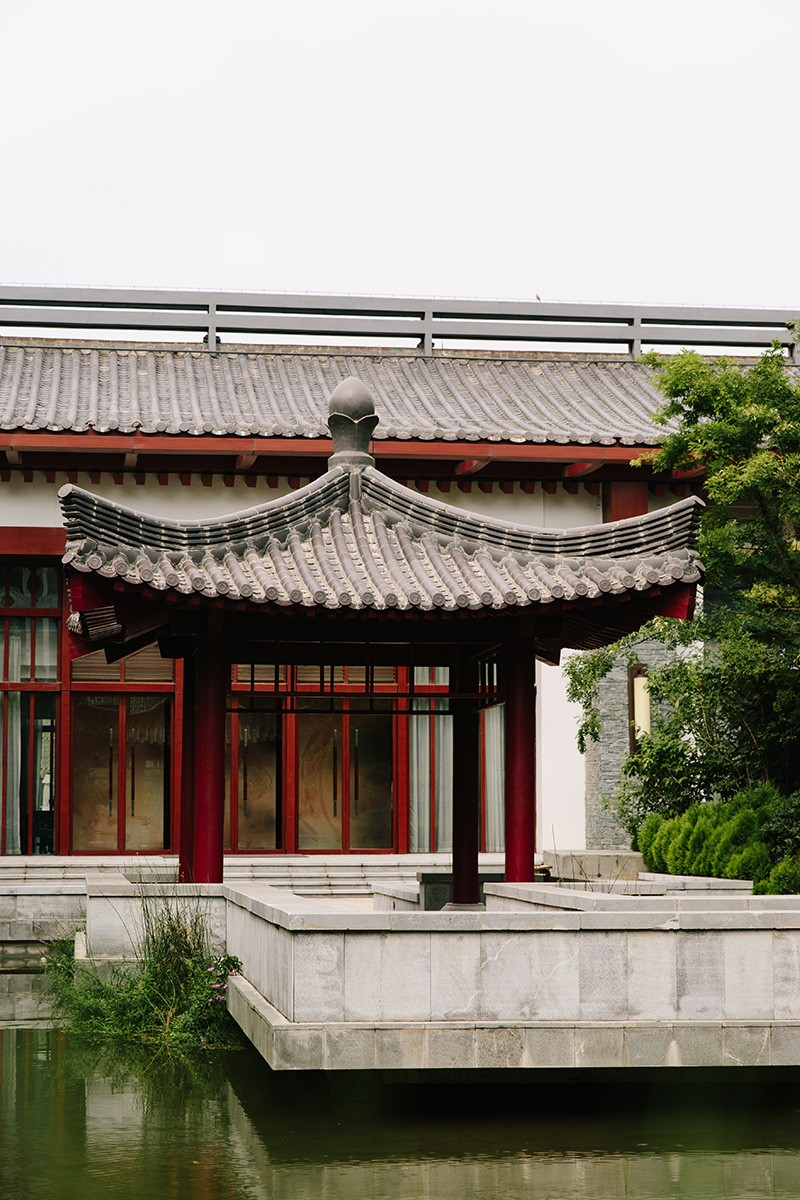 Part of the beautiful, historically inspired property of the Angsana Xi'an Lintong