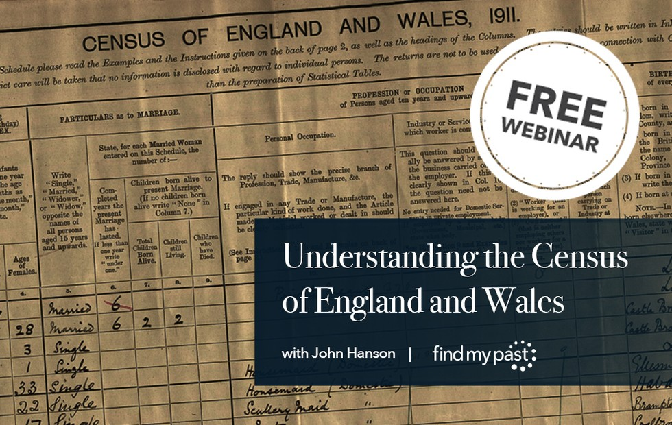 Learn More About Census Records in our Webinar