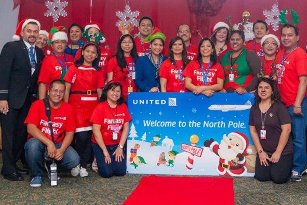 Guam employees attending Fantasy Flights event last year in 2015