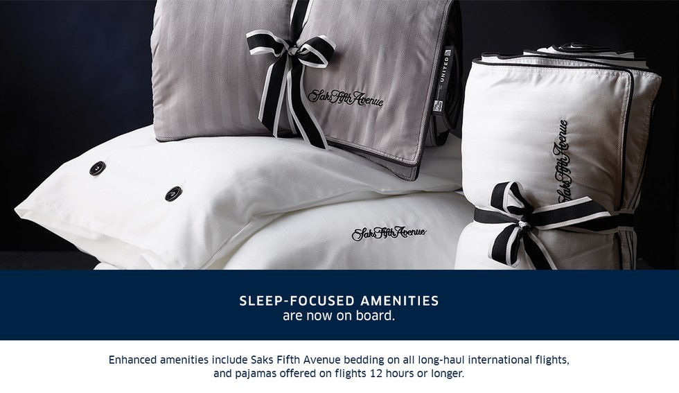4. Sleep focused amenities are now on board.
