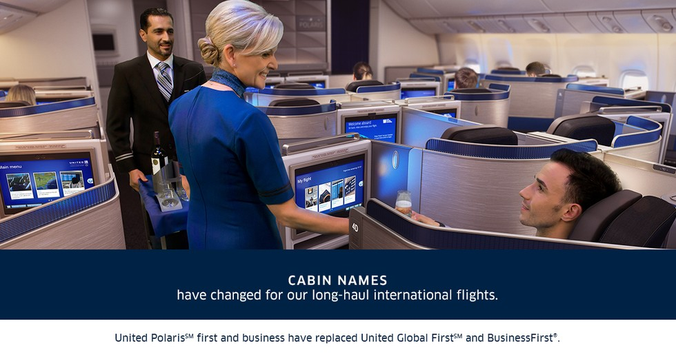 5. Cabin names have changed for our long-haul international flights.