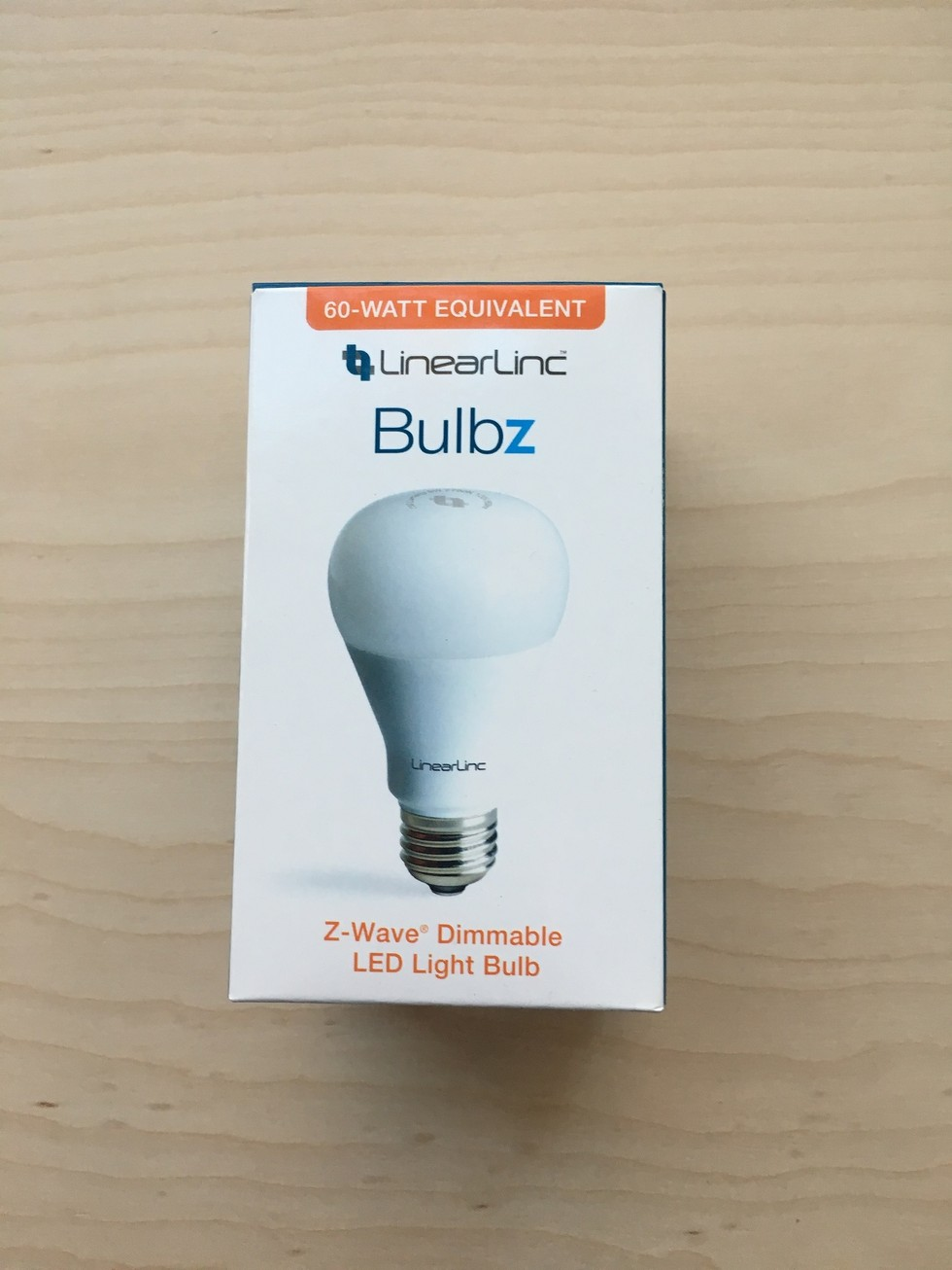 LinearLinc LED Dimmable Z-Wave Light Bulb