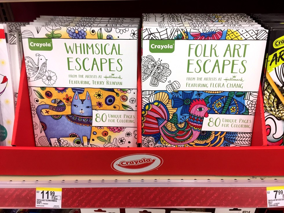 WALGREENS Adult Coloring Books