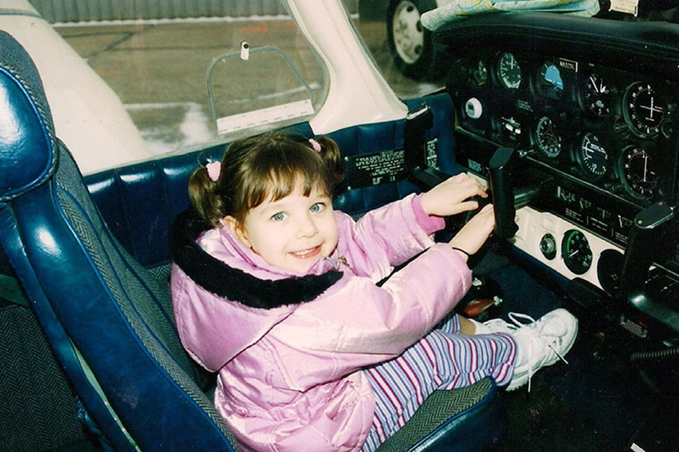 ORD 737 Captain John Fulgenzi's daughter Maddie has been flying with her dad since she was 3 years old.