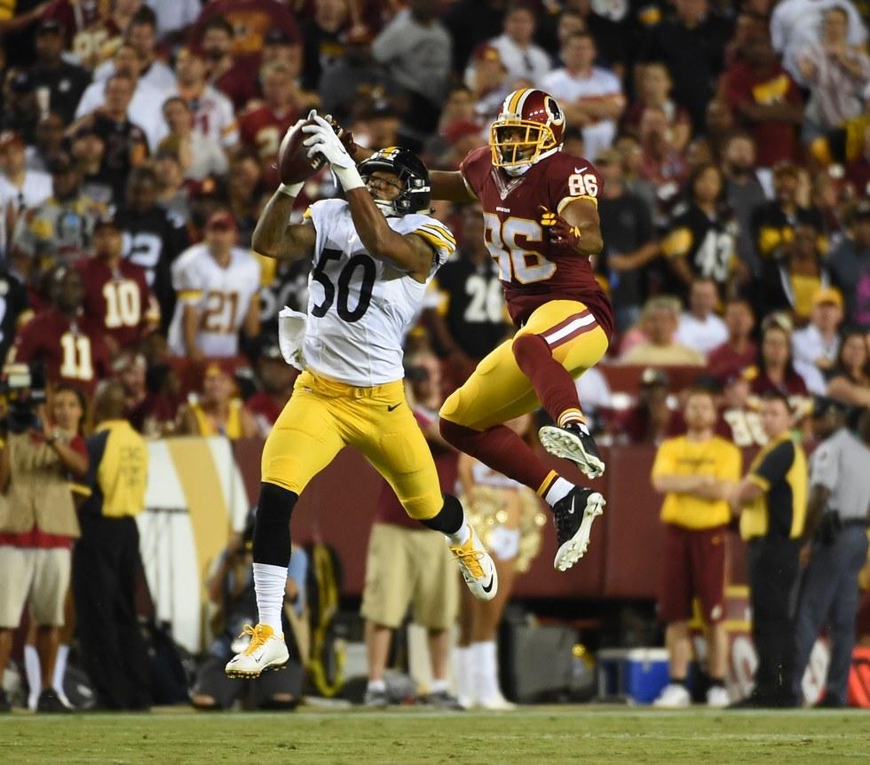 Game 1: Steelers 38, Redskins 16