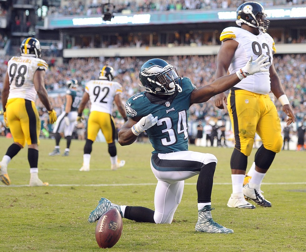Game 3: Eagles 34, Steelers 3
