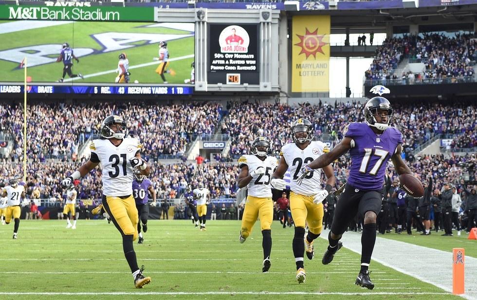 Game 8: Ravens 21, Steelers 14