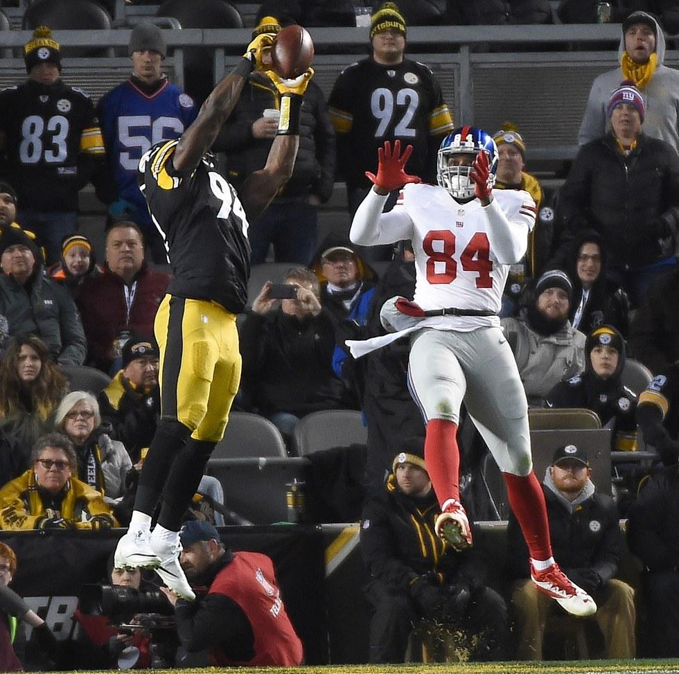 Game 12: Steelers 24, Giants 14