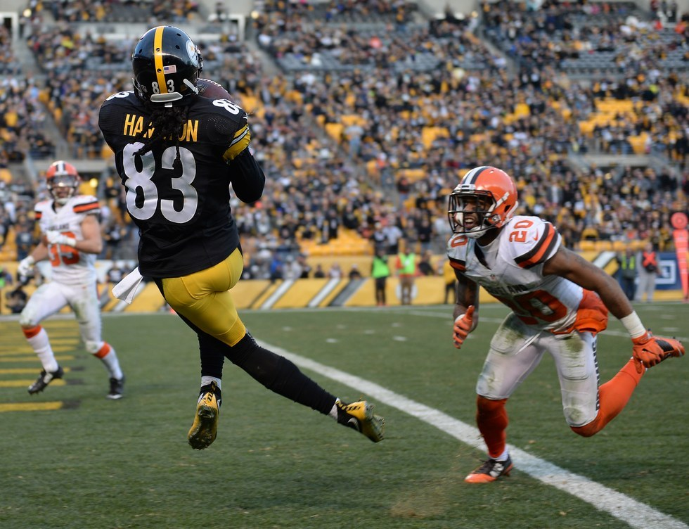 Game 16: Steelers 27, Browns 24 (OT)