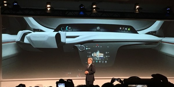 Panasonic new concept car with Voice recognition from IBM