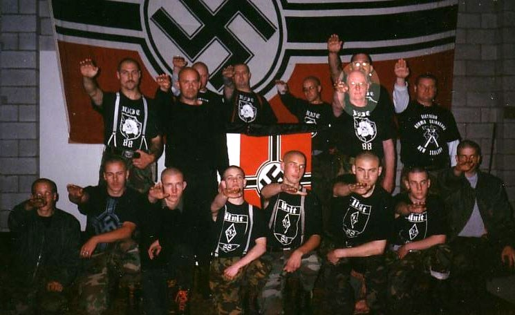 the origin and history of skinheads group of neo nazis Not all skinhead groups are racist but, for the purposes of this essay, the term is   boys, a neo-nazi skinhead club, established one of the first internet  1992  and 1997, many of them founded in sweden (ragnarock records,.