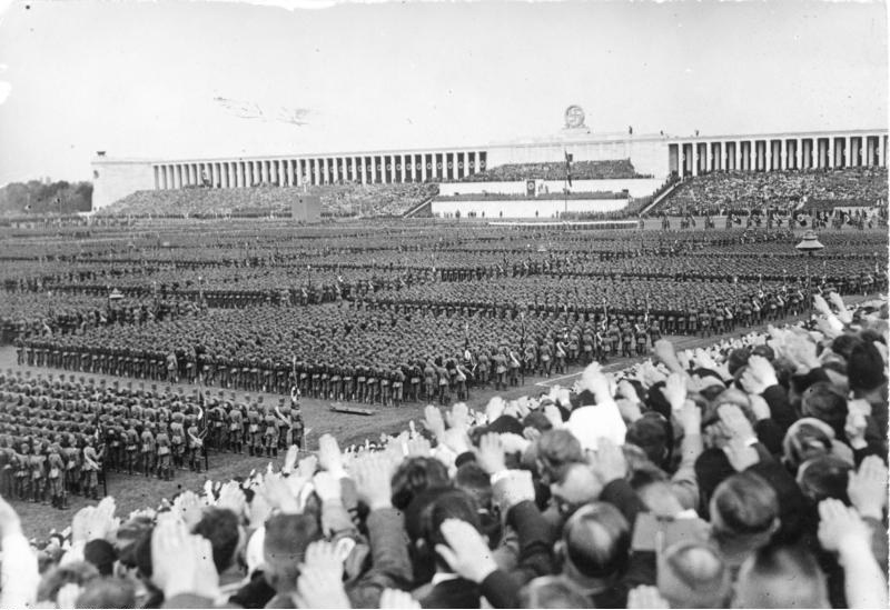 Image result for nazi rally in nuremberg