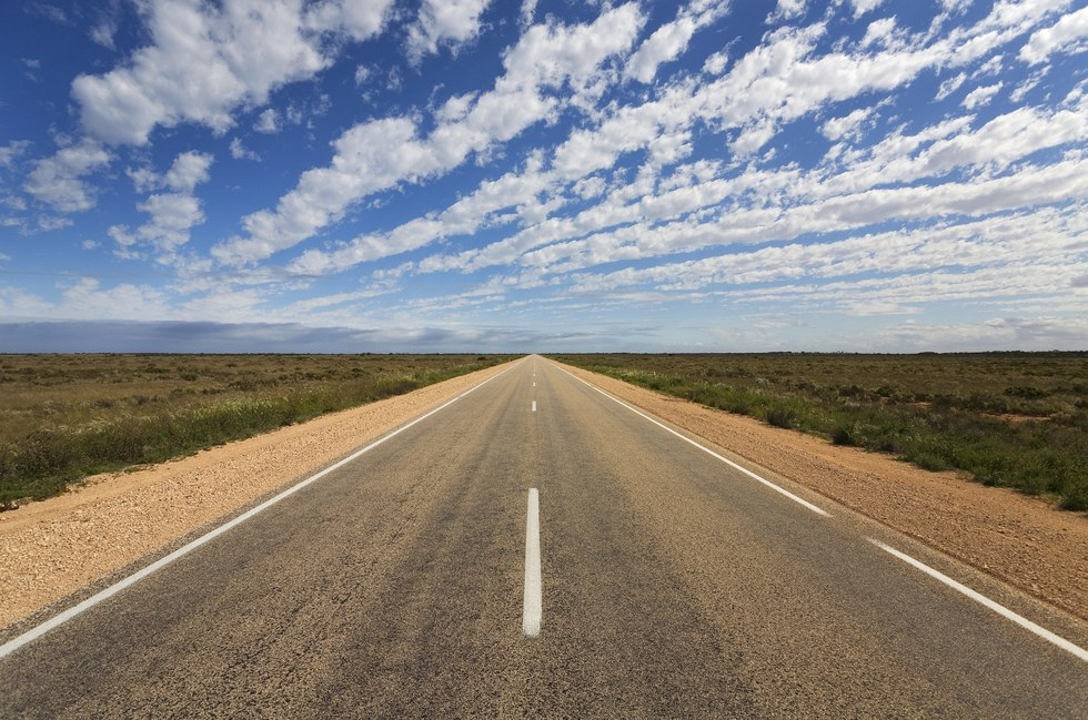 Image result for World's most monotonous road: The Eyre Highway, Australia