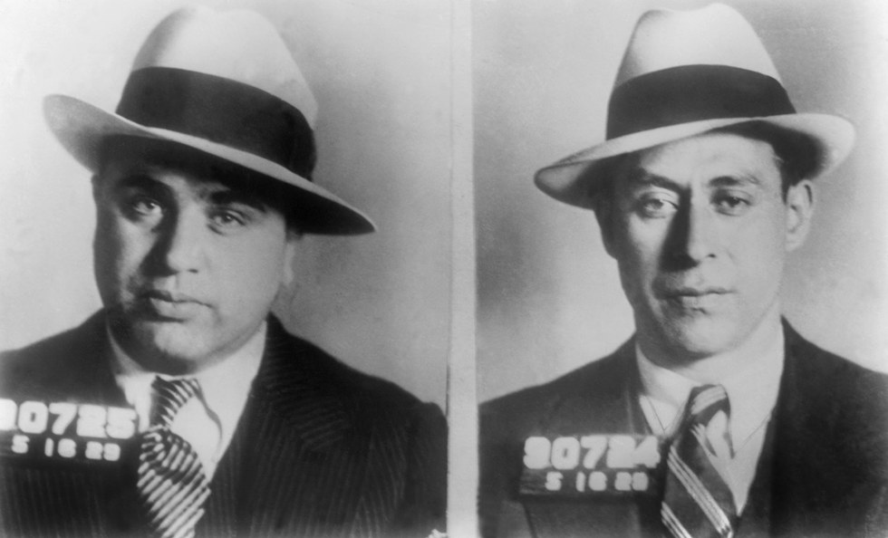 a biography on al capone a notorious gangster Tom hardy is set to play al capone, the world's most notorious mobster, in a new  film about capone's life: fonzo, from writer-director josh.