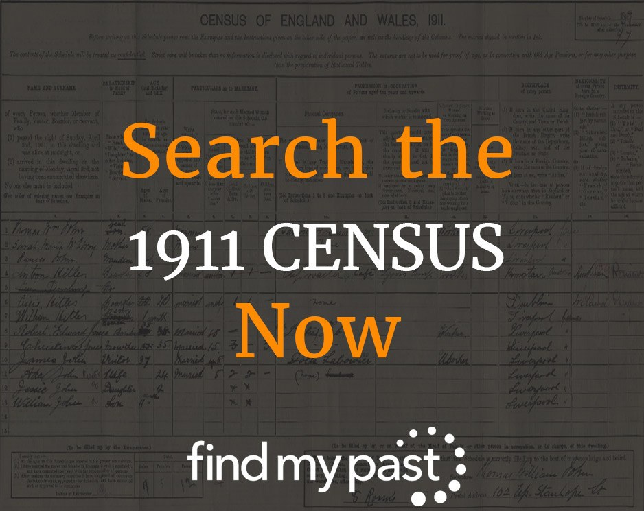 Search the 1911 Census Now